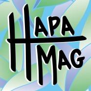 Hapa Mag - Custom Logo Design / Art Medium: Adobe Illustrator