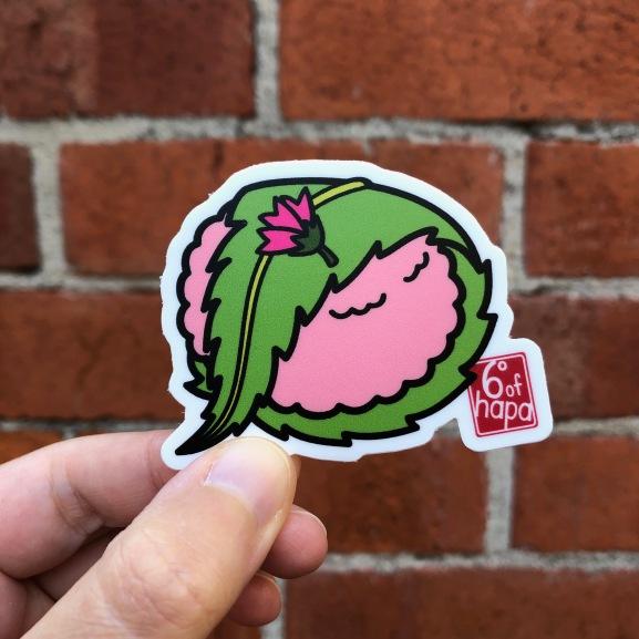 Sakura Mochi Vinyl Sticker